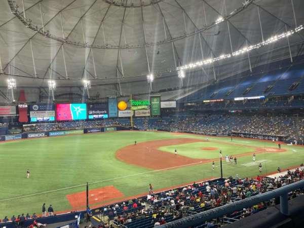 Tropicana Field, section: 217, row: B, seat: 11