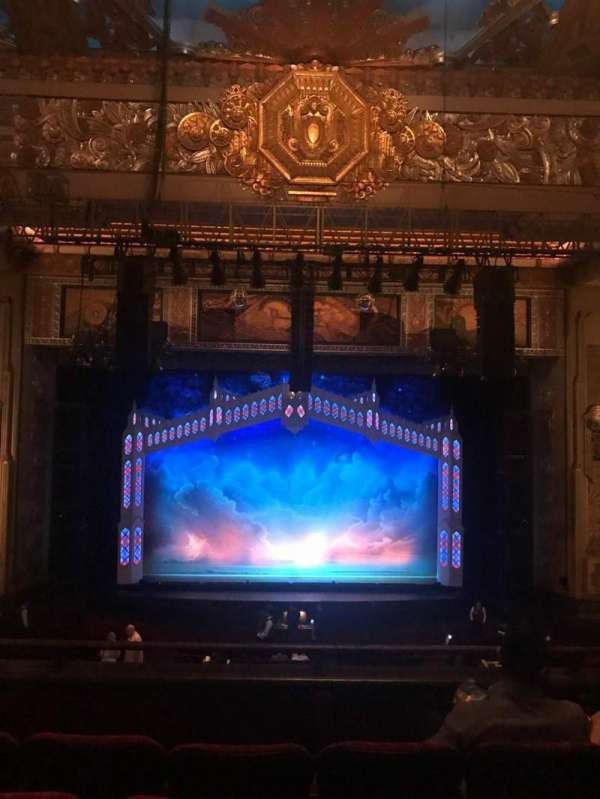 Hollywood Pantages Theatre, section: Center Mezz, row: D