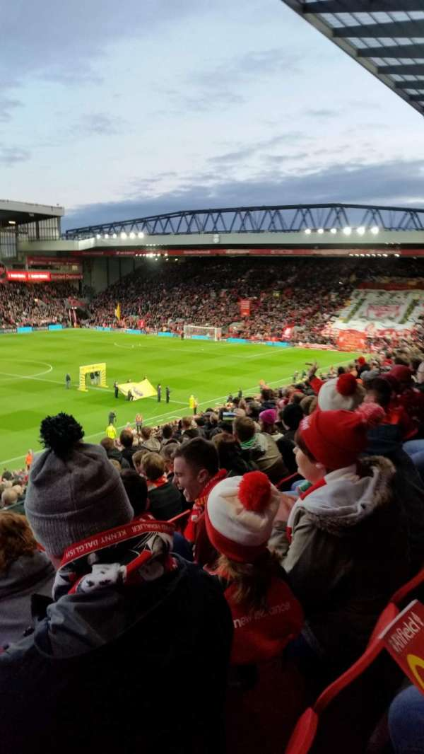 Anfield, section: L11, row: 41, seat: 0046