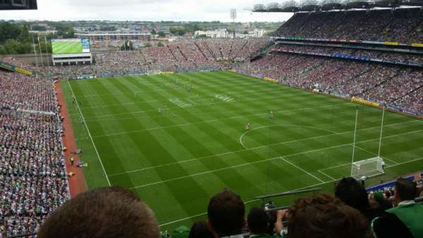 Croke Park, section: 722, row: O, seat: 21