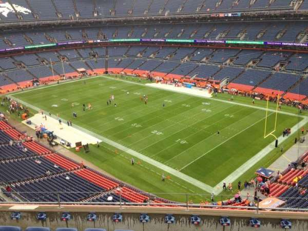 Broncos Stadium at Mile High, section: 501, row: 6, seat: 6