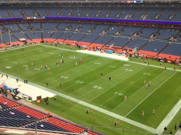 Broncos Stadium at Mile High, section: 502, row: 5, seat: 10