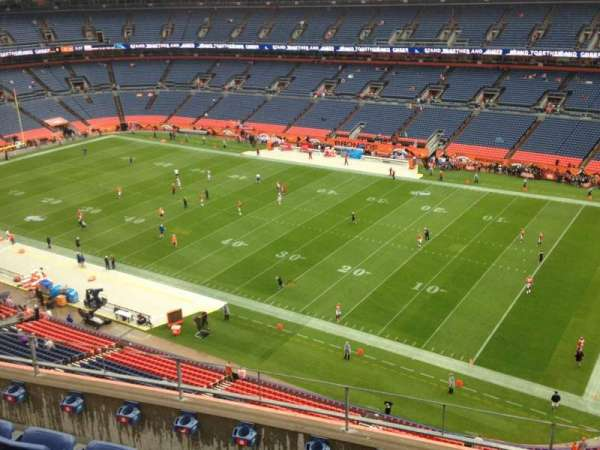Broncos Stadium at Mile High, section: 503, row: 5, seat: 7
