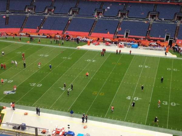 Broncos Stadium at Mile High, section: 506, row: 8, seat: 16