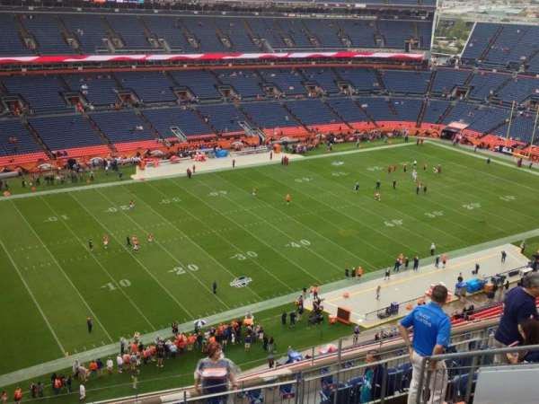 Broncos Stadium at Mile High, section: 514, row: 9, seat: 13