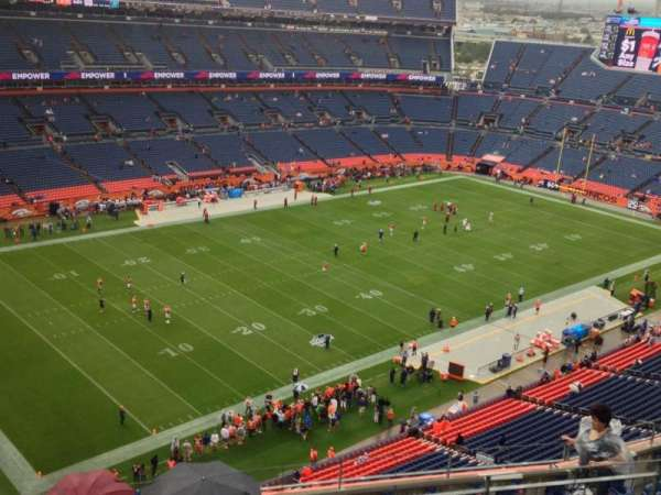 Broncos Stadium at Mile High, section: 515, row: 12, seat: 5