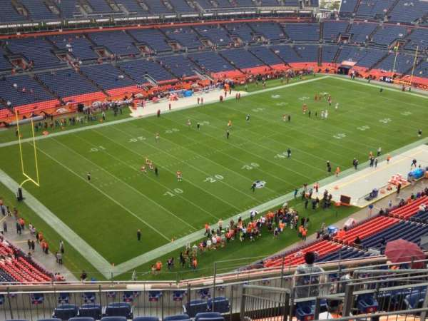 Empower Field at Mile High Stadium, section: 516, row: 12, seat: 7