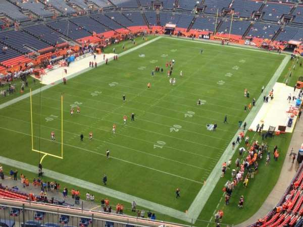 Broncos Stadium at Mile High, section: 519, row: 13, seat: 5