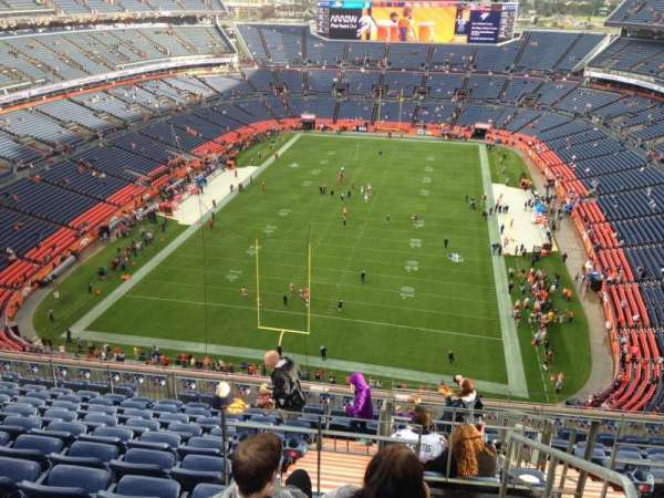 Broncos Stadium at Mile High, section: 521, row: 12, seat: 13