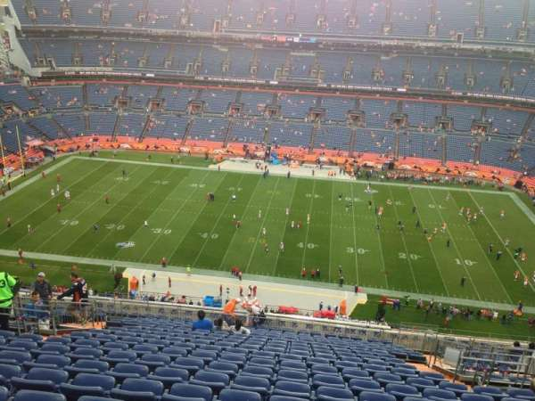 Broncos Stadium at Mile High, section: 534, row: 26, seat: 11