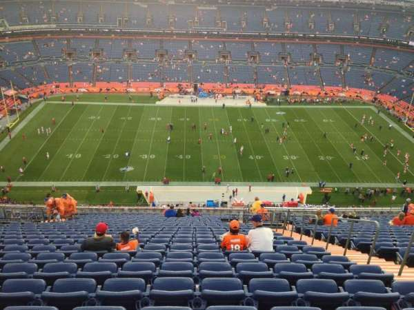 Broncos Stadium at Mile High, section: 536, row: 26, seat: 9