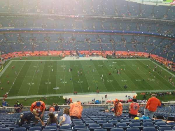 Empower Field at Mile High Stadium, section: 537, row: 30, seat: 9