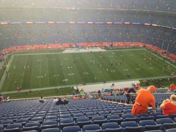 Broncos Stadium at Mile High, section: 538, row: 27, seat: 25