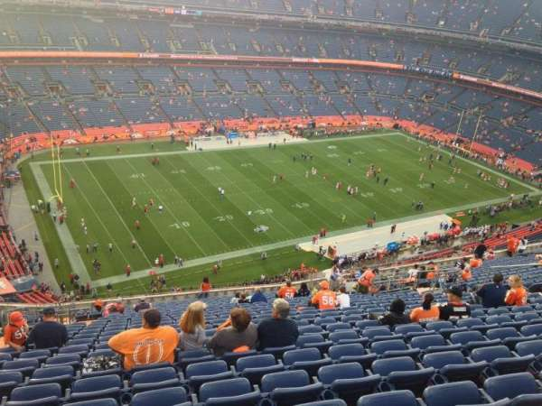 Broncos Stadium at Mile High, section: 540, row: 20, seat: 8