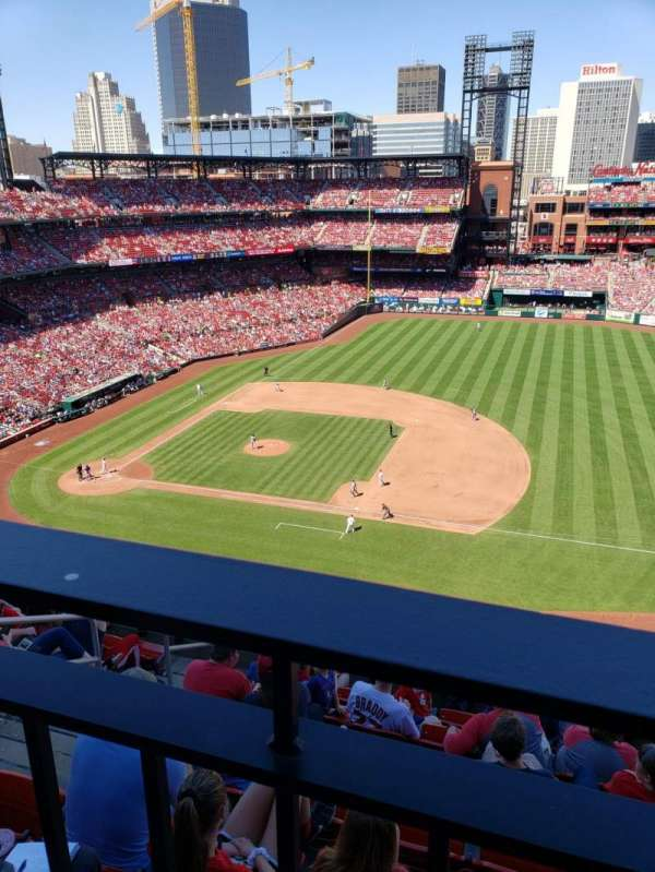 Busch Stadium, section: 341, row: wc, seat: 4