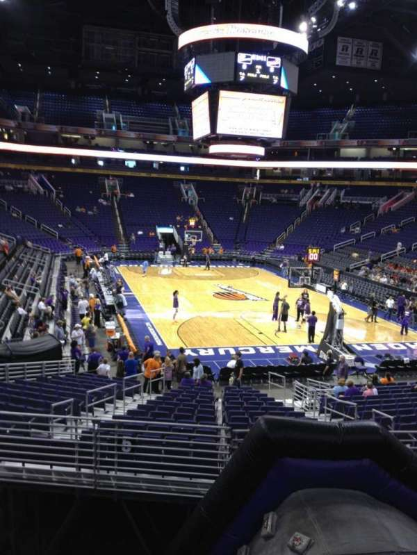 PHX Arena, section: 121, row: 20, seat: 12