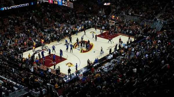 Quicken Loans Arena, section: 221, row: 11, seat: 5