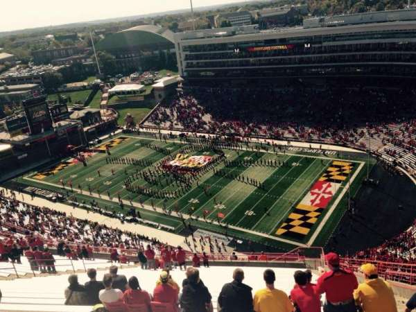 Maryland Stadium, section: 312, row: KK, seat: 27