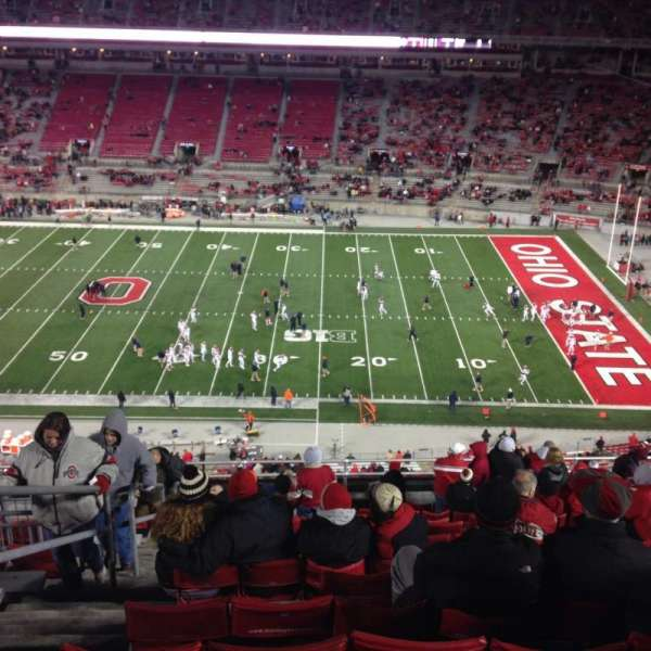 Ohio Stadium, section: 18c, row: 16, seat: 3