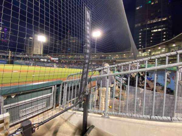 Truist Field, section: 117, row: B, seat: 2
