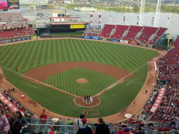 Great American Ball Park, section: 523, row: N, seat: 21