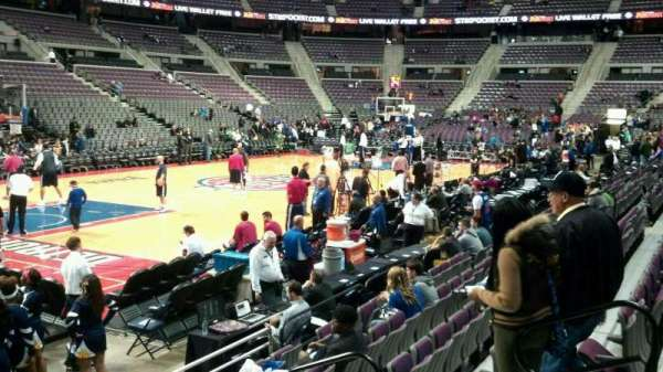 The Palace of Auburn Hills, section: 116, row: a, seat: 008