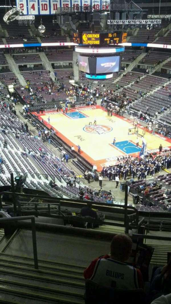 The Palace of Auburn Hills, section: 225, row: 14, seat: 024