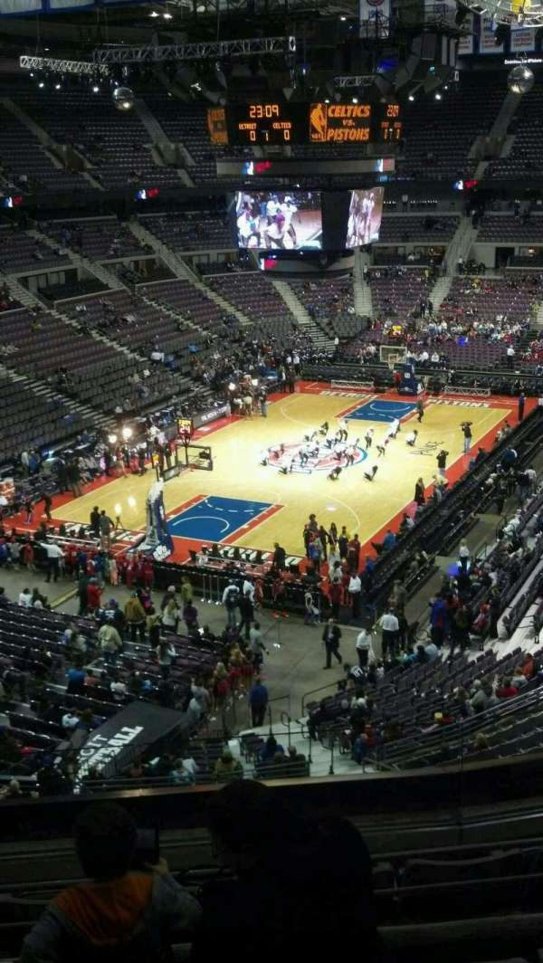 The Palace of Auburn Hills, section: 206, row: 5, seat: 001