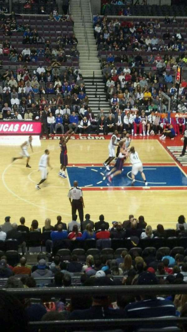 The Palace of Auburn Hills, section: 126, row: p, seat: 009