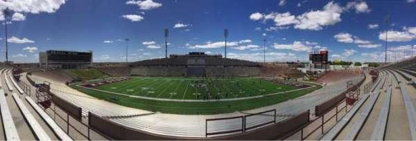 Aggie Memorial Stadium, section: TT, row: 29, seat: 26