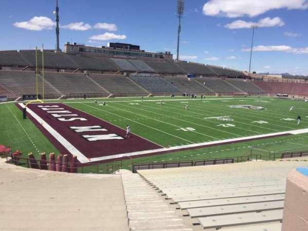 Aggie Memorial Stadium, section: X, row: 18, seat: 36