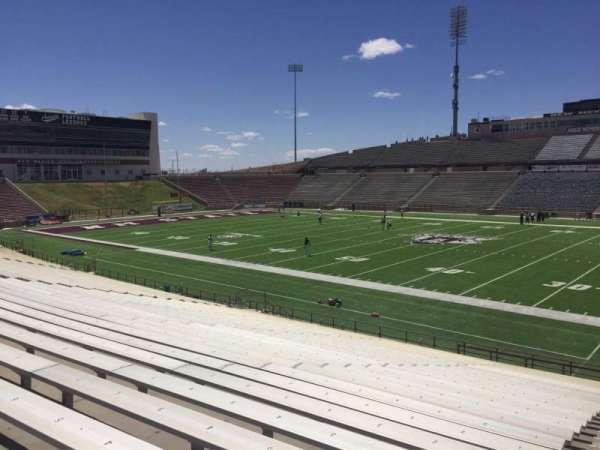 Aggie Memorial Stadium, section: S, row: 18, seat: 3