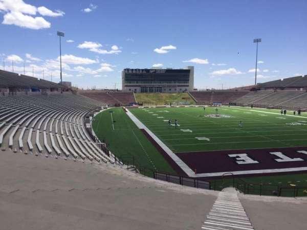 Aggie Memorial Stadium, section: O, row: 18