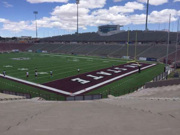 Aggie Memorial Stadium, section: D, row: 18