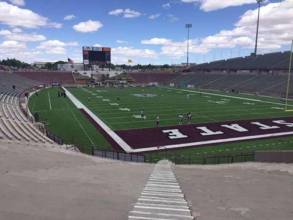 Aggie Memorial Stadium, section: C, row: 18