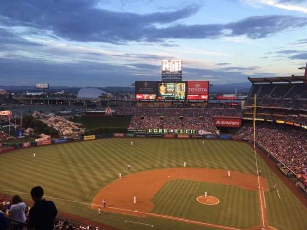 Angel Stadium, section: V516, row: C, seat: 5