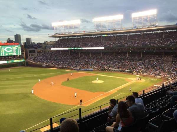Wrigley Field, section: 306L, row: 5, seat: 21