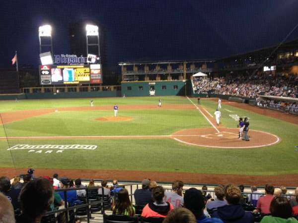 Huntington Park, section: 15, row: 13, seat: 8