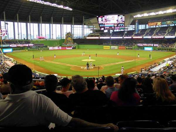 Marlins Park, section: 14, row: 15, seat: 12
