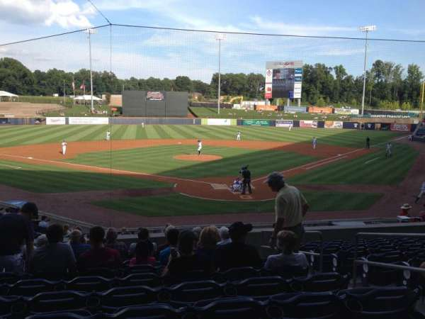 Coolray Field, section: 102, row: R, seat: 1