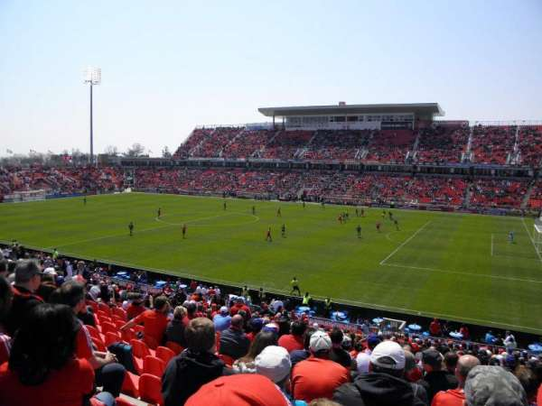 BMO Field, section: 105, row: 29, seat: 10