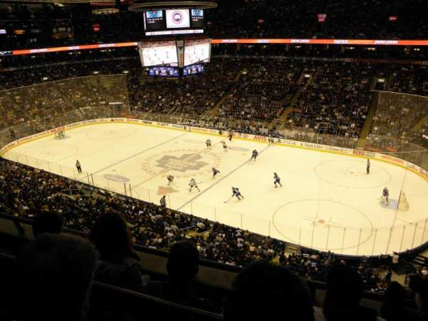 Scotiabank Arena, section: 307, row: 3, seat: 9