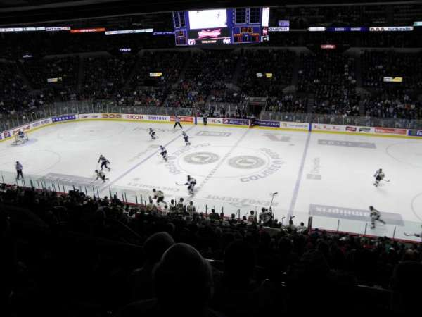 Colisée Pepsi, section: 214, row: E, seat: 8