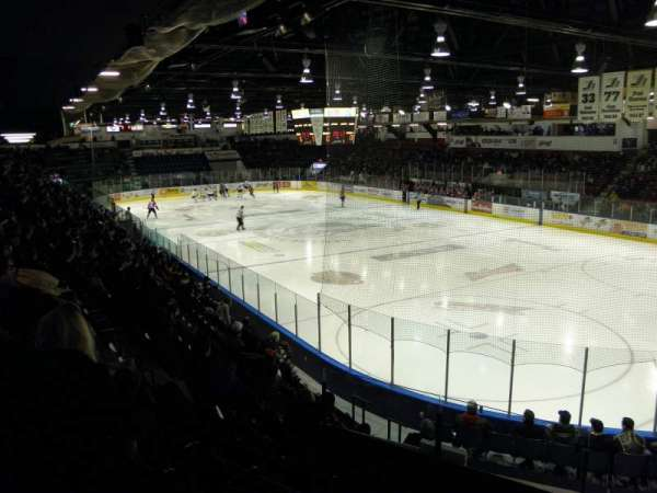 Robert Guertin Centre, section: 2, row: L, seat: 32