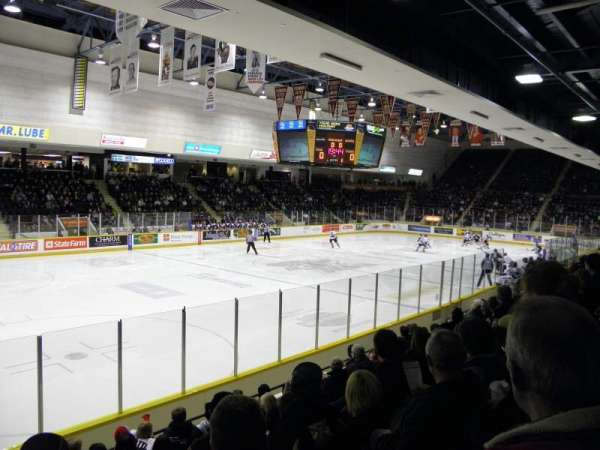 Peterborough Memorial Centre, section: 3, row: H, seat: 1