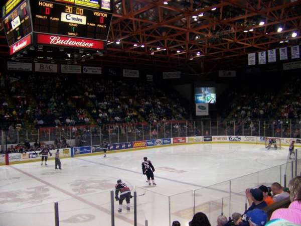 Floyd L. Maines Veterans Memorial Arena, section: 2, row: C, seat: 7