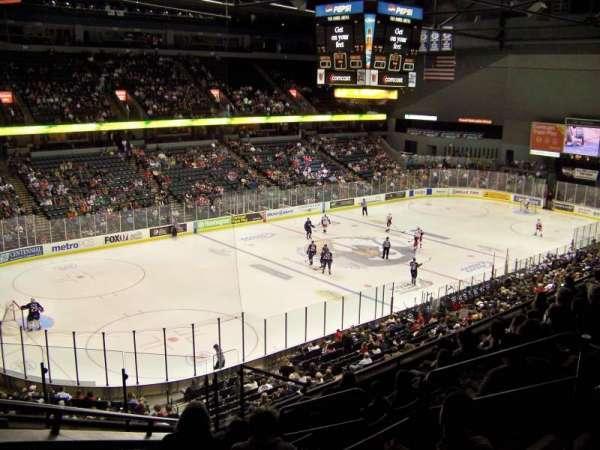 Van Andel Arena, section: 225, row: H, seat: 1