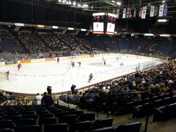 FirstOntario Centre, section: 126, row: 21, seat: 3