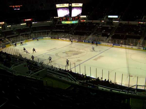 Carver Arena, section: 10, row: 17, seat: 2