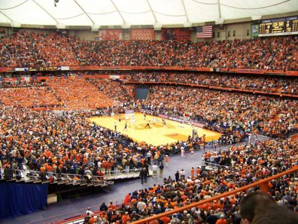 Carrier Dome, section: 318